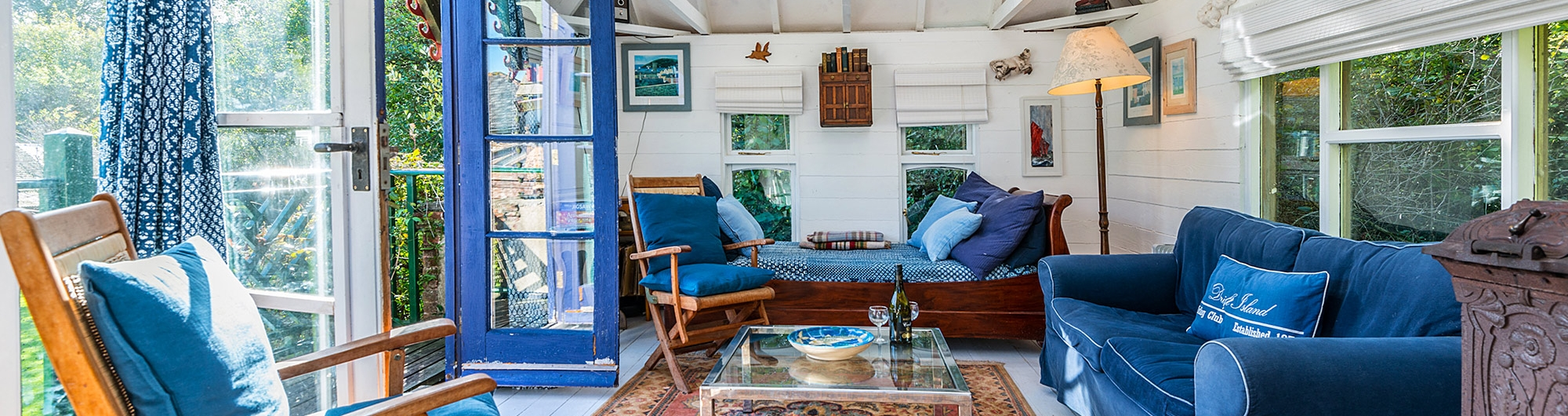 The folly living room