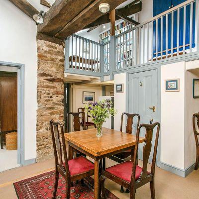 Upper Mill House inside dining room