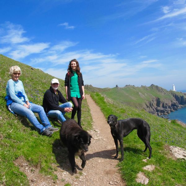 Walking the coast path to Start point