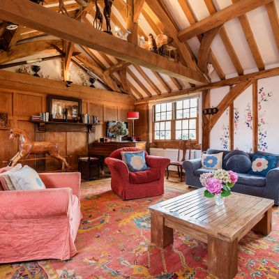 the Barn open plan space