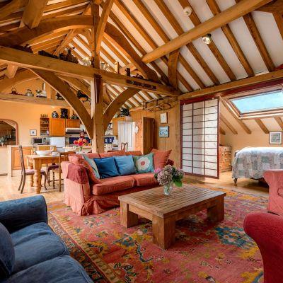 The Barn sitting room