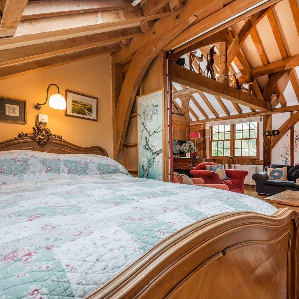 The Barn alcove double bedroom