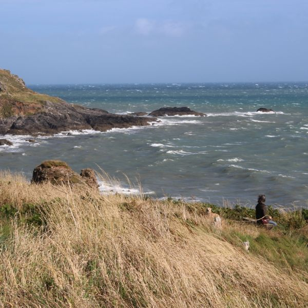 Coast path at Prawle point