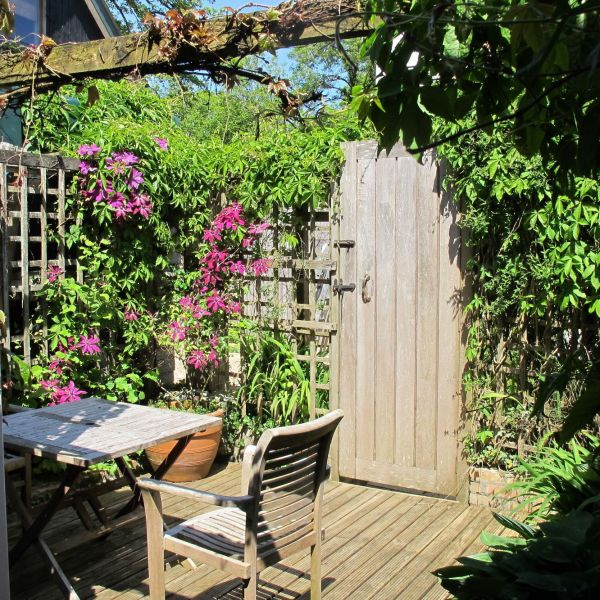 The Barn downstairs garden