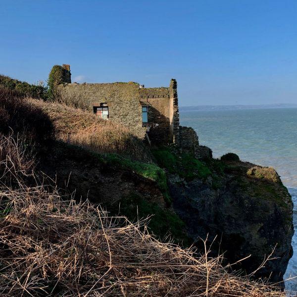 Coastal path by coastal erosion
