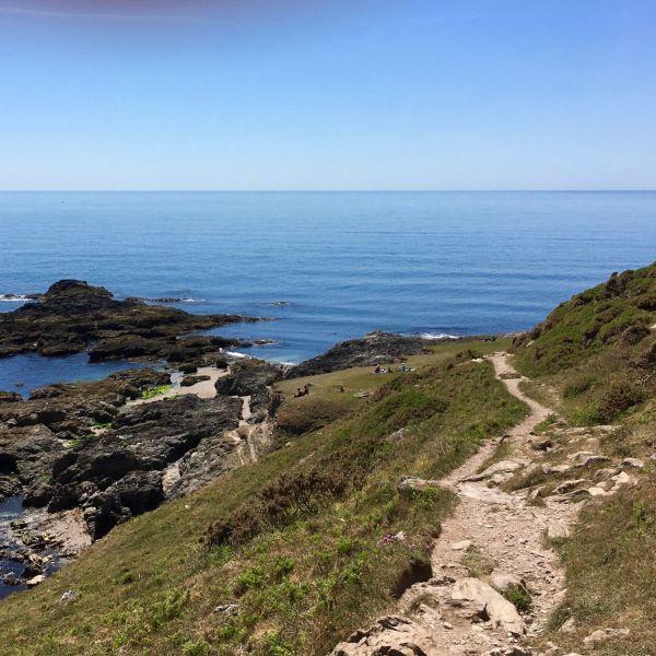 Coast path West of Start